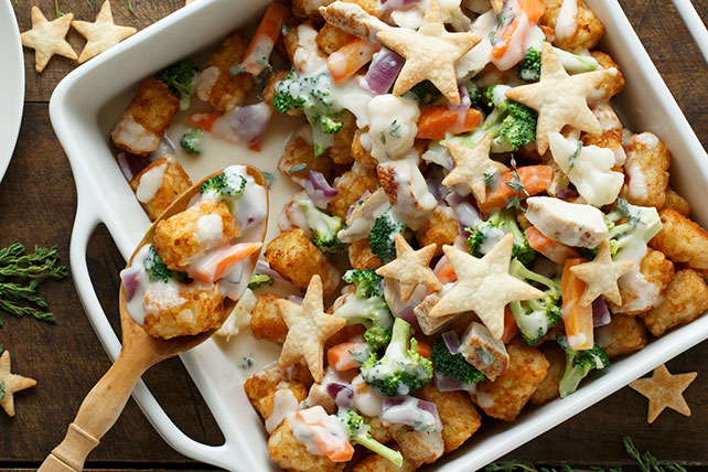 Chicken and TATER TOTS®  Pot Pie Image 1