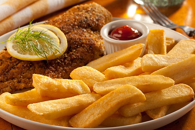 Easy Fish Chips Supper Image 1