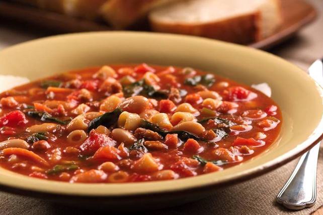 Tuscan White Bean Soup Image 1