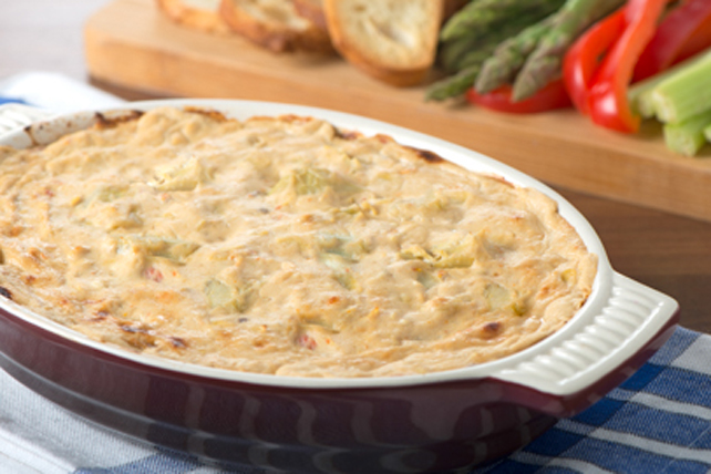 Sun-Dried Tomato-Artichoke Dip Recipe - Kraft Canada