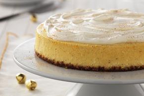 Classic Eggnog Cheesecake