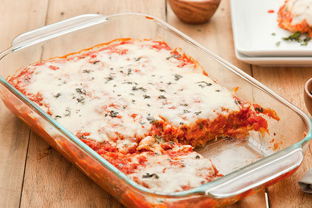 Cracker-Coated Eggplant Parmesan