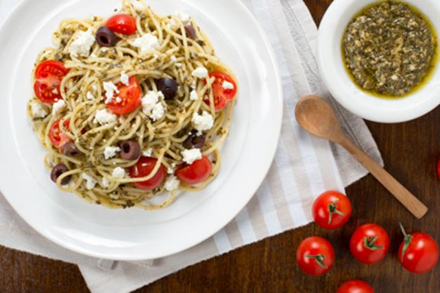 Spaghetti au pesto Image 1
