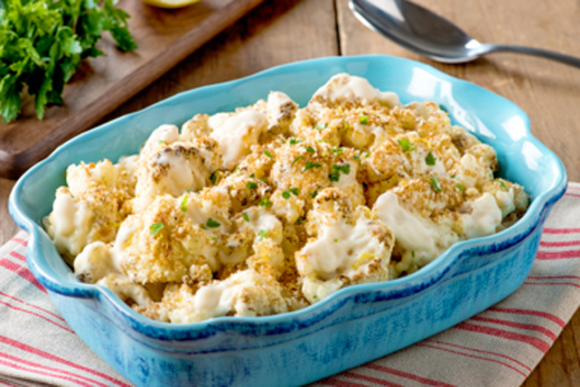 Roasted Cauliflower Alfredo Image 1