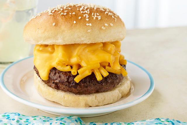 Burger macaroni et fromage Image 1