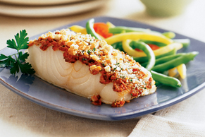 Oven-Baked Fish Fillets