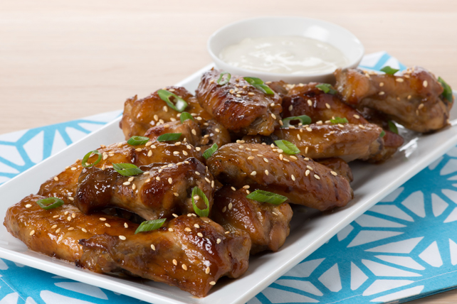 Asian Sesame Chicken Wings Image 1