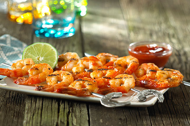 Barbecued Shrimp Kabobs Image 1