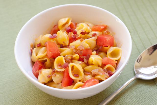 Coquilles garnies de bacon et de tomates Image 1