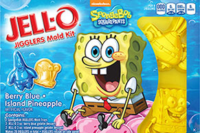 JELL-O JIGGLERS Movie/TV Character Mold Kit