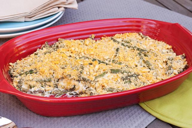 Casserole aux haricots verts et au cheddar Image 1