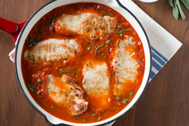 Southern Italian Pork Scallopine Image 1