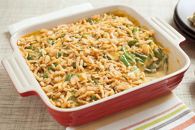 Favourite Cheesy Green Bean Casserole Image 1