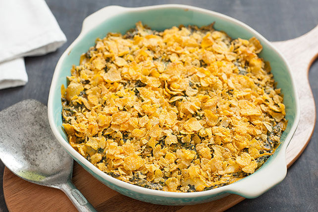 Favourite Cheesy Spinach Casserole Image 1