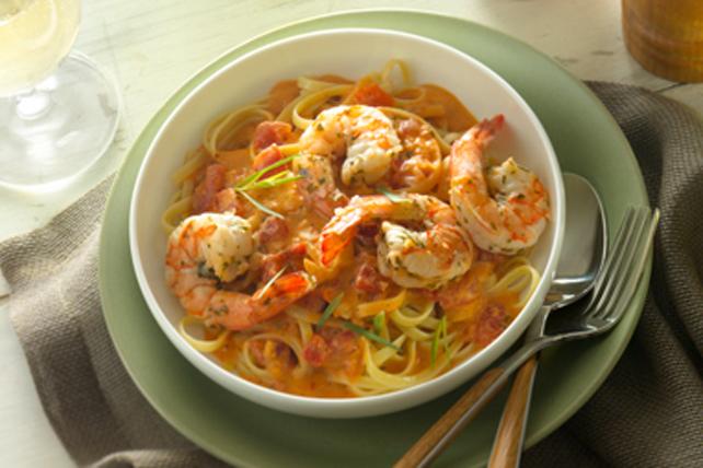 Lombardia Shrimp Pasta Image 1