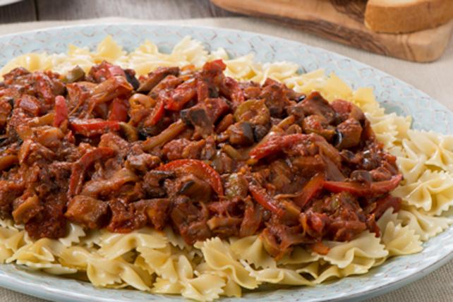 Pâtes à la sicilienne Image 1