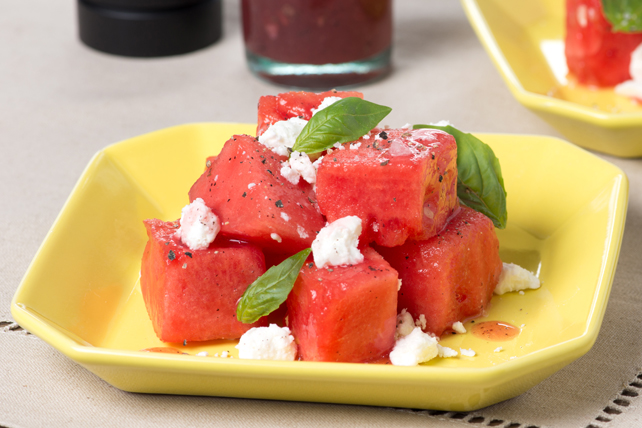 Watermelon and Feta Salad Image 1