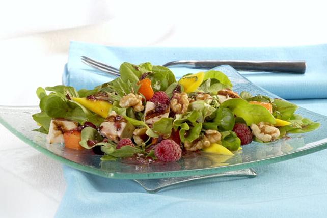 Salade de poulet aux fruits tropicaux Image 1