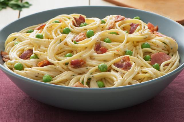Creamy Italian Spaghetti Carbonara Image 1