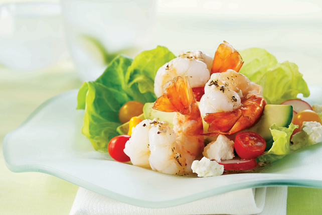 Shrimp and Avocado Salad Image 1