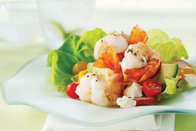 Salade de crevettes et d'avocat Image 1
