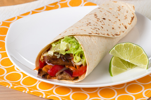 Asian Sesame-Beef Fajitas