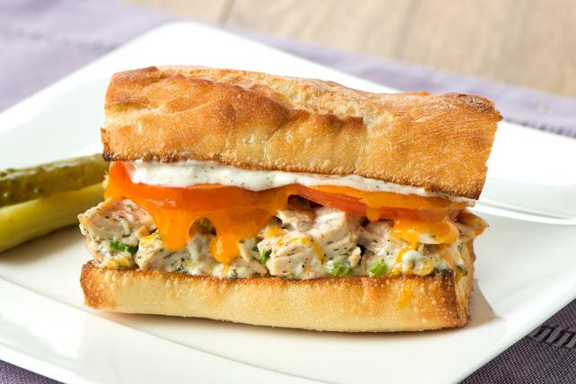 Sandwich fondant au thon et à l'aneth  Image 1