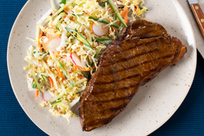 Asian Sesame-Seared Steak