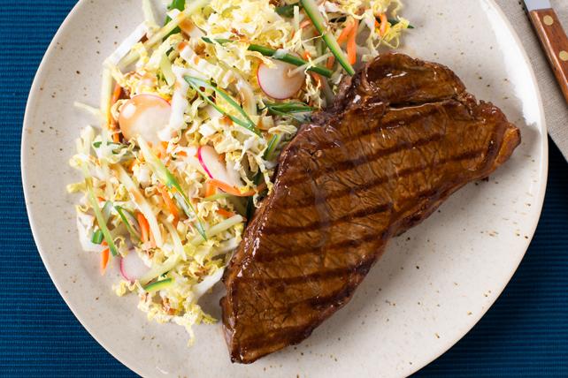 Bifteck poêlé au sésame à l'asiatique Image 1