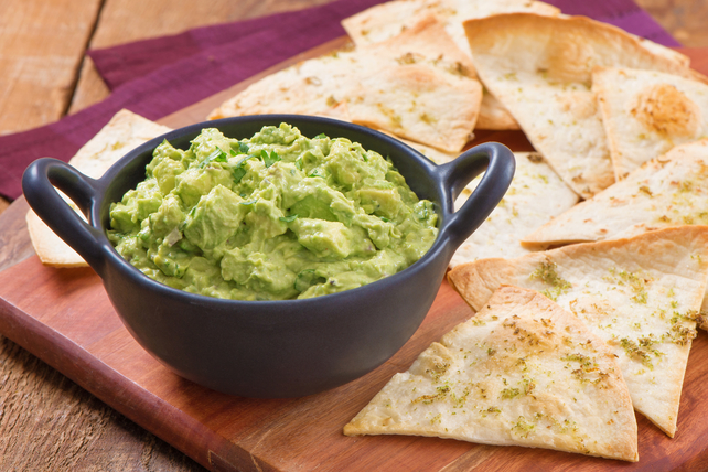 Easy Homemade Tortilla Chips with Chipotle Guacamole Image 1