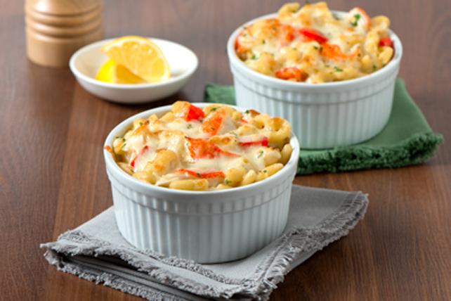 Macaronis au fromage et au crabe Image 1