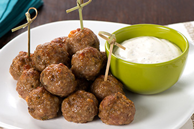 Turkey and Olive Meatballs Image 1