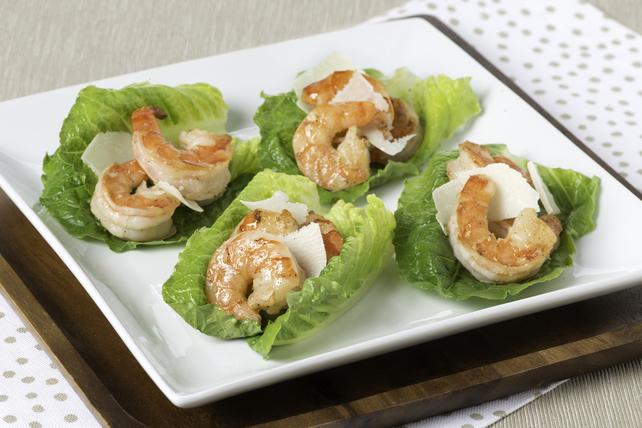 Crevettes César au parmesan Image 1
