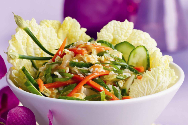 Salade de chou thaï piquante Image 1