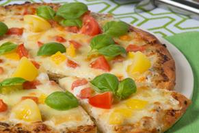 Caesar Caprese Pizza