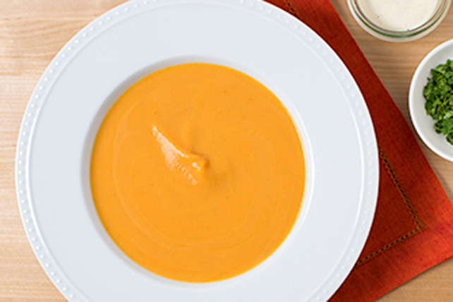 Classic Ranch-Sweet Potato Soup Image 1