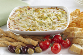 Cheesy Hot Artichoke Dip