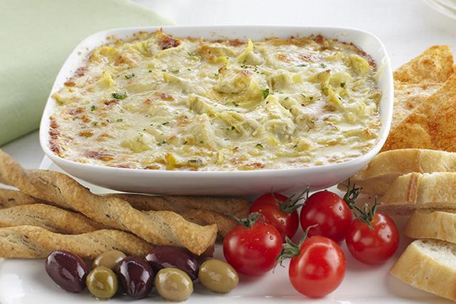Trempette chaude au fromage et à l'artichaut Image 1