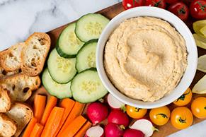 Caesar Hummus Dip