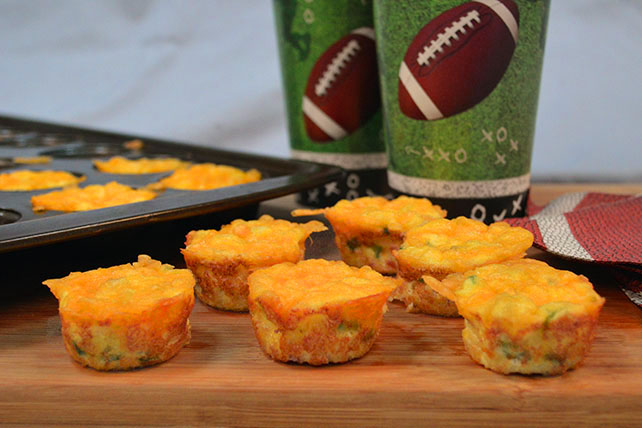 Mini Ham and Cheese Egg Cups Image 1