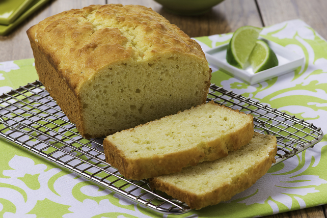 Coconut-Lime Quick Bread Image 1