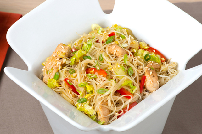 Singapore Rice Noodles Image 1