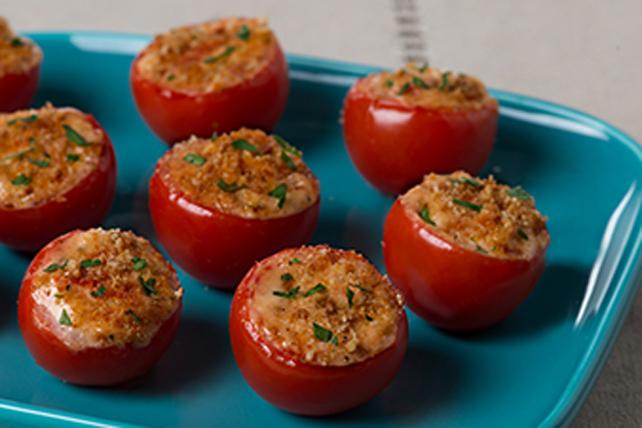 Tomates cerises grillées au féta Image 1