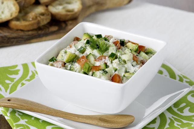 Salsa-tzatziki au concombre et à l'aneth Image 1