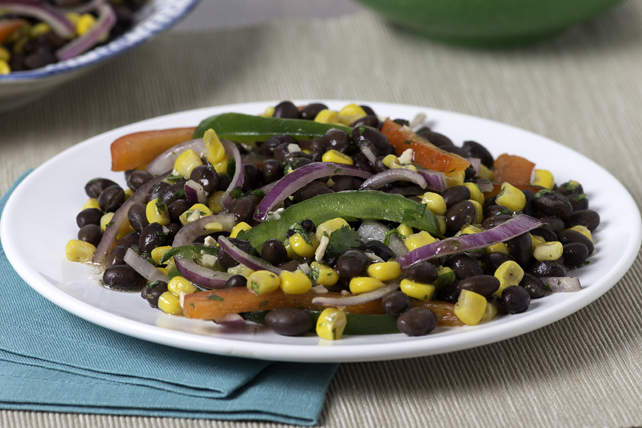 Mediterranean Black Bean Salad Image 1