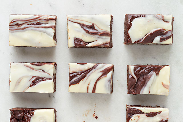 Double-Chocolate Macaroon Fudge Image 1