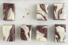 Double-Chocolate Macaroon Fudge