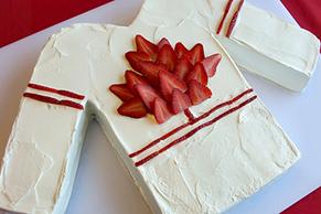 Go Canada Hockey Jersey Cake