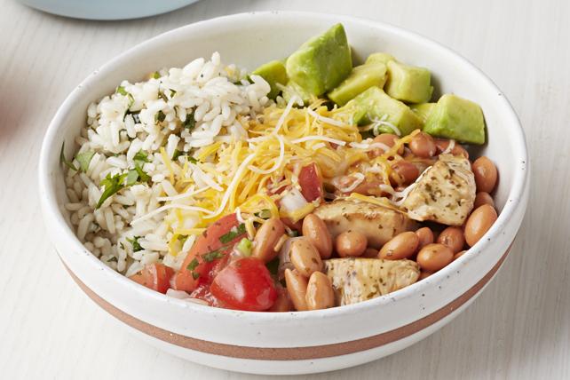 Chicken Burrito Bowls Image 1