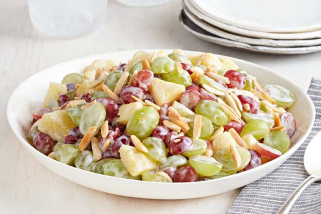 Salade de raisins crémeuse Image 1